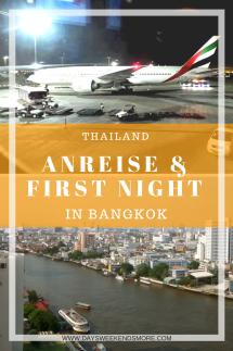Anreise Bangkok