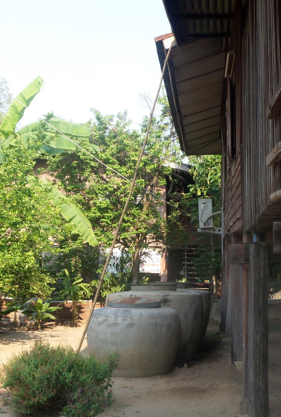 Garten Wasserspeicher