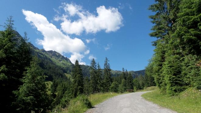 Spaziergang Talschluss Hinterglemm