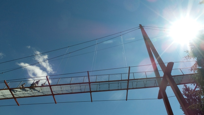 Golden Gate Brücke der Alpen