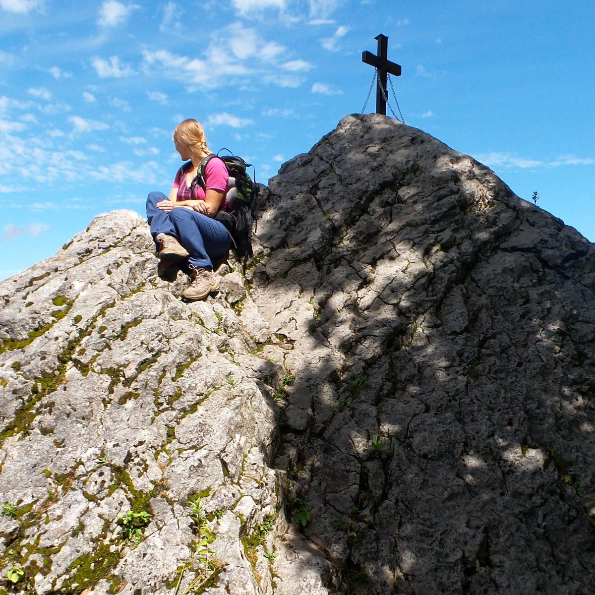 Hochlantsch über den Franz-Scheikl-Klettersteig