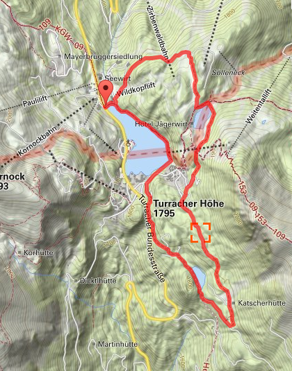 Route 3-See-Runde Turrach