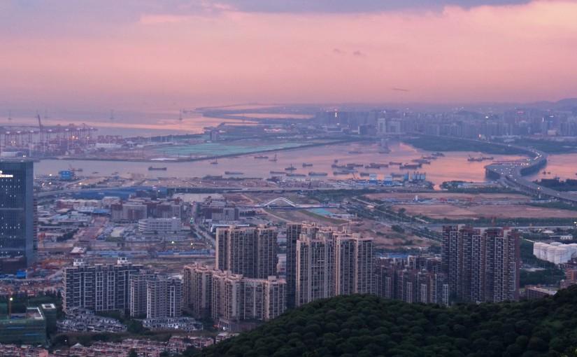 Sonnenuntergang am Danan Mountain – Wanderung inShekou