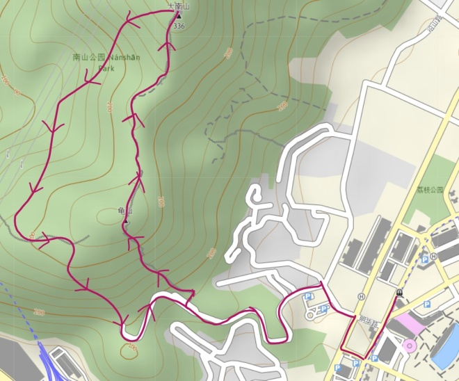 Danan Mountain Route