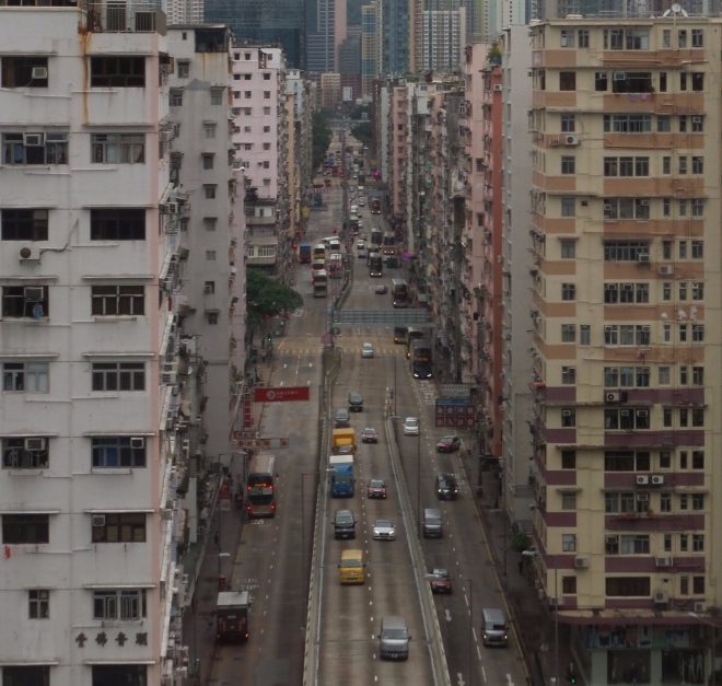 Mongkok von oben