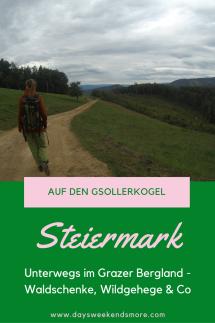 Auf den Gsollerkogel - der perfekte Familienspaziergang vor den Toren von Graz