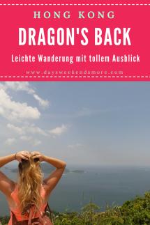 Dragon's Back Wanderung