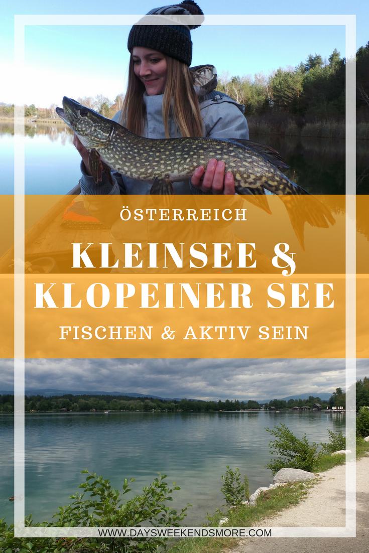 Fischen am Kleinsee & aktiv sein am Klopeiner See