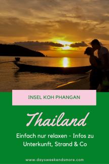 Einfach nur relaxen auf Koh Phangan - Tipps & Infos