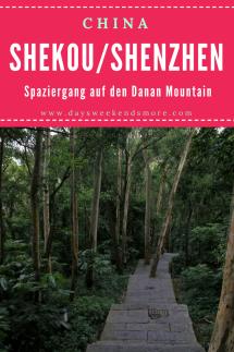 Shekou, Shenzhen - Spaziergang auf den Danan Mountain