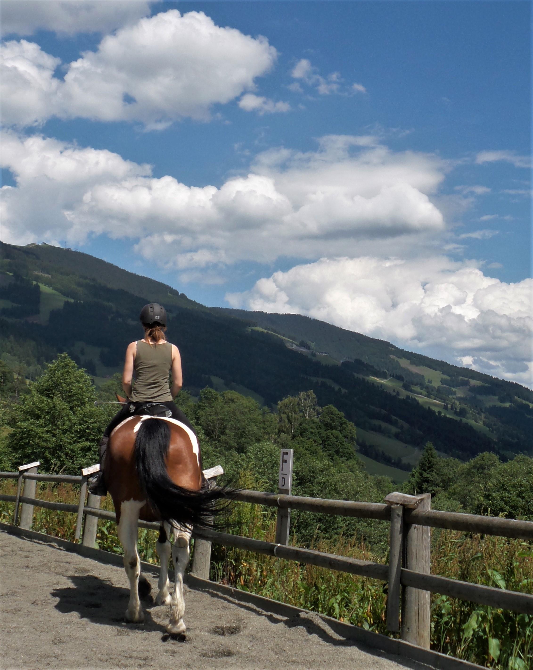 Reiten in Saalbach