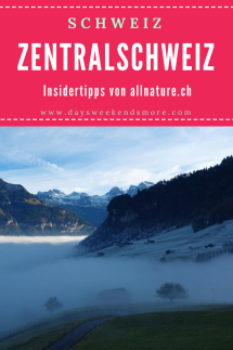 Alles rund um Luzern und den Vierwaldstättersee in der Zentralschweiz - Gastbeitrag von allnature.ch