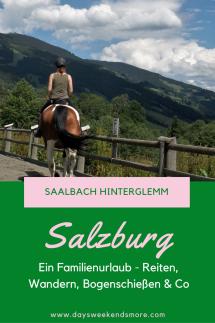 Familienurlaub im Reithotel - Saalbach Hinterglemm