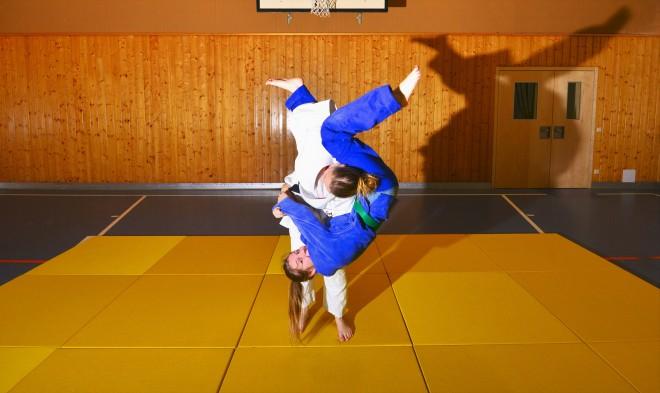 Judo Schnappschuss