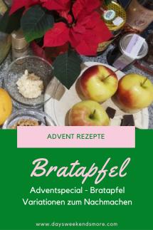 Sweetsunday - Bratapfel Variationen für einen genussvollen Adventsonntag