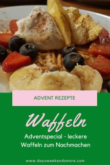 Sweetsunday - Waffelrezept für einen genussvollen Adventsonntag