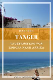 Tanger - Ein Tagesausflug von Tarifa nach Marokko