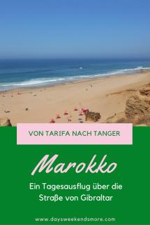 Von Spanien nach Marokko - über die Straße von Gibraltar