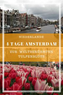 Amsterdam zur Tulpenblüte - 4 Tage in Amsterdam + Tagesausflug Keukenhof