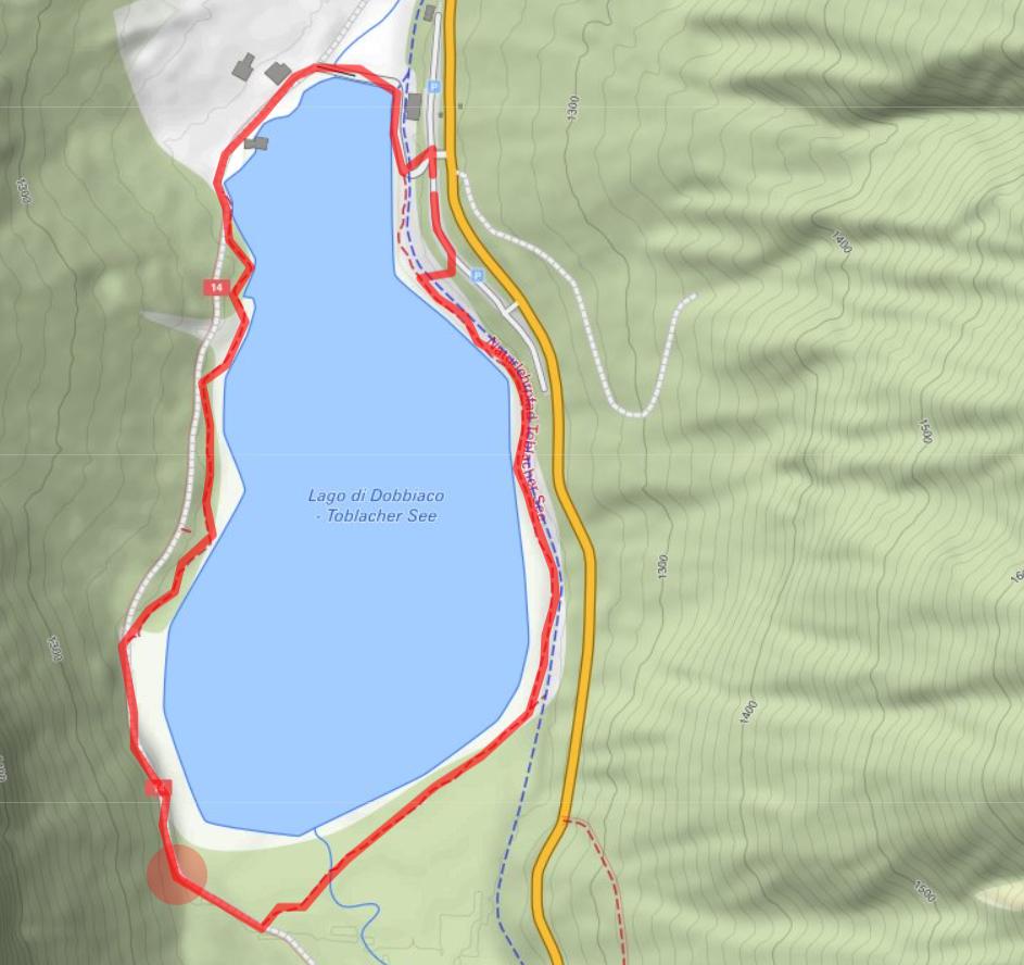 Toblacher See Runde