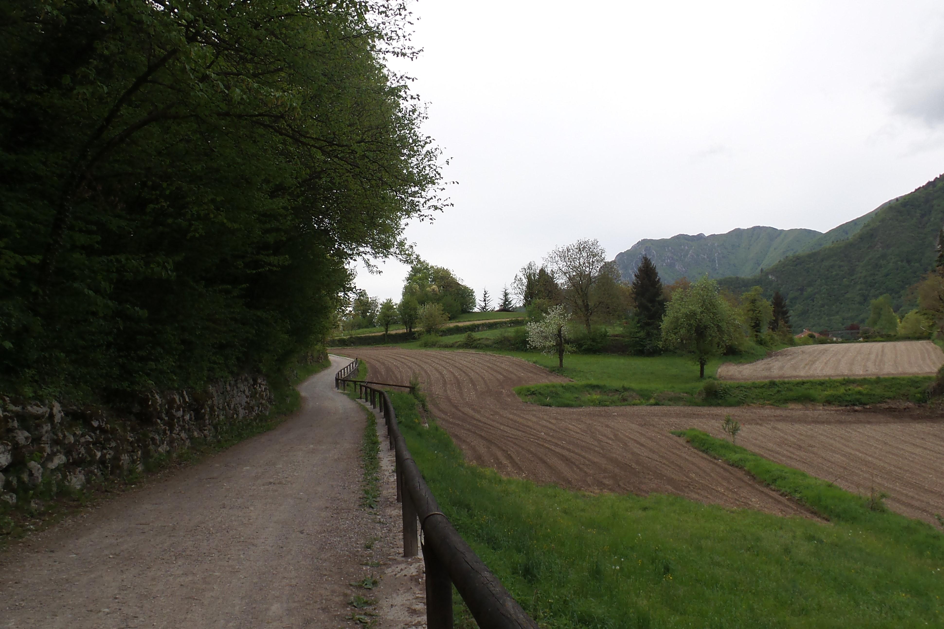 Canale di Tenno Spaziergang
