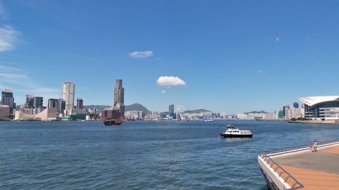 Uferpromenade Central Hongkong