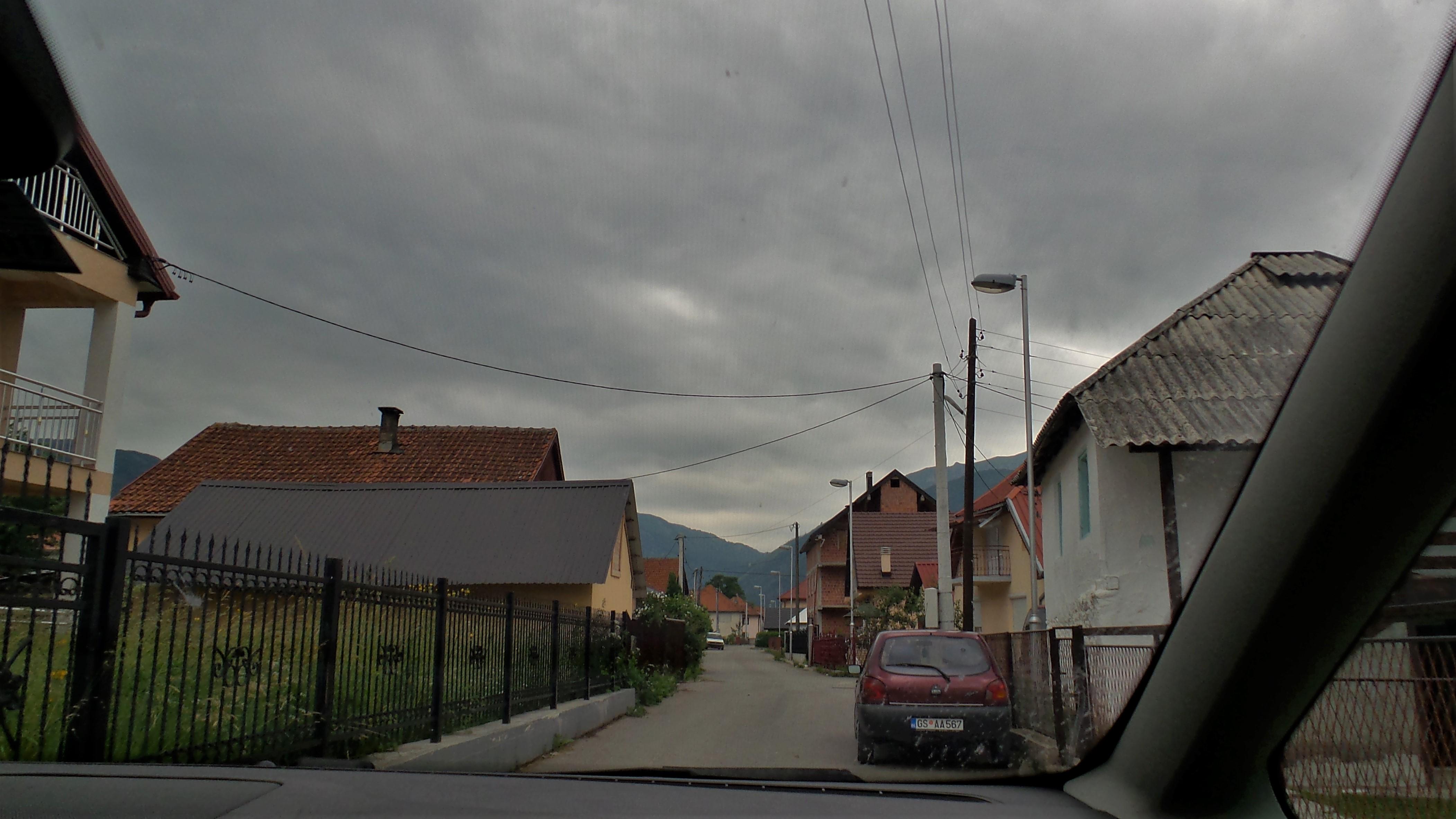 Fahrt durch Gusinje