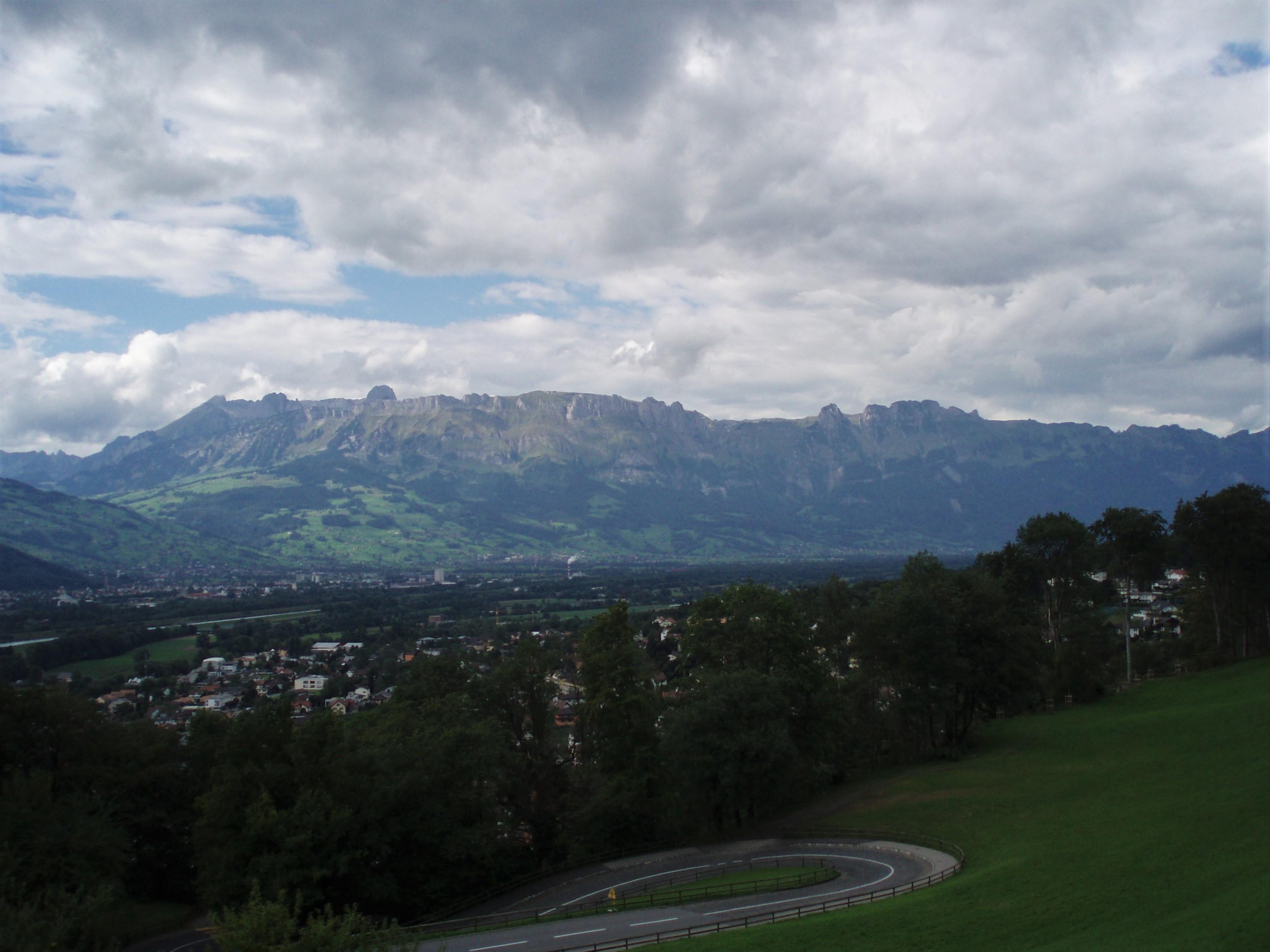 Schloss Vaduz Ausblick