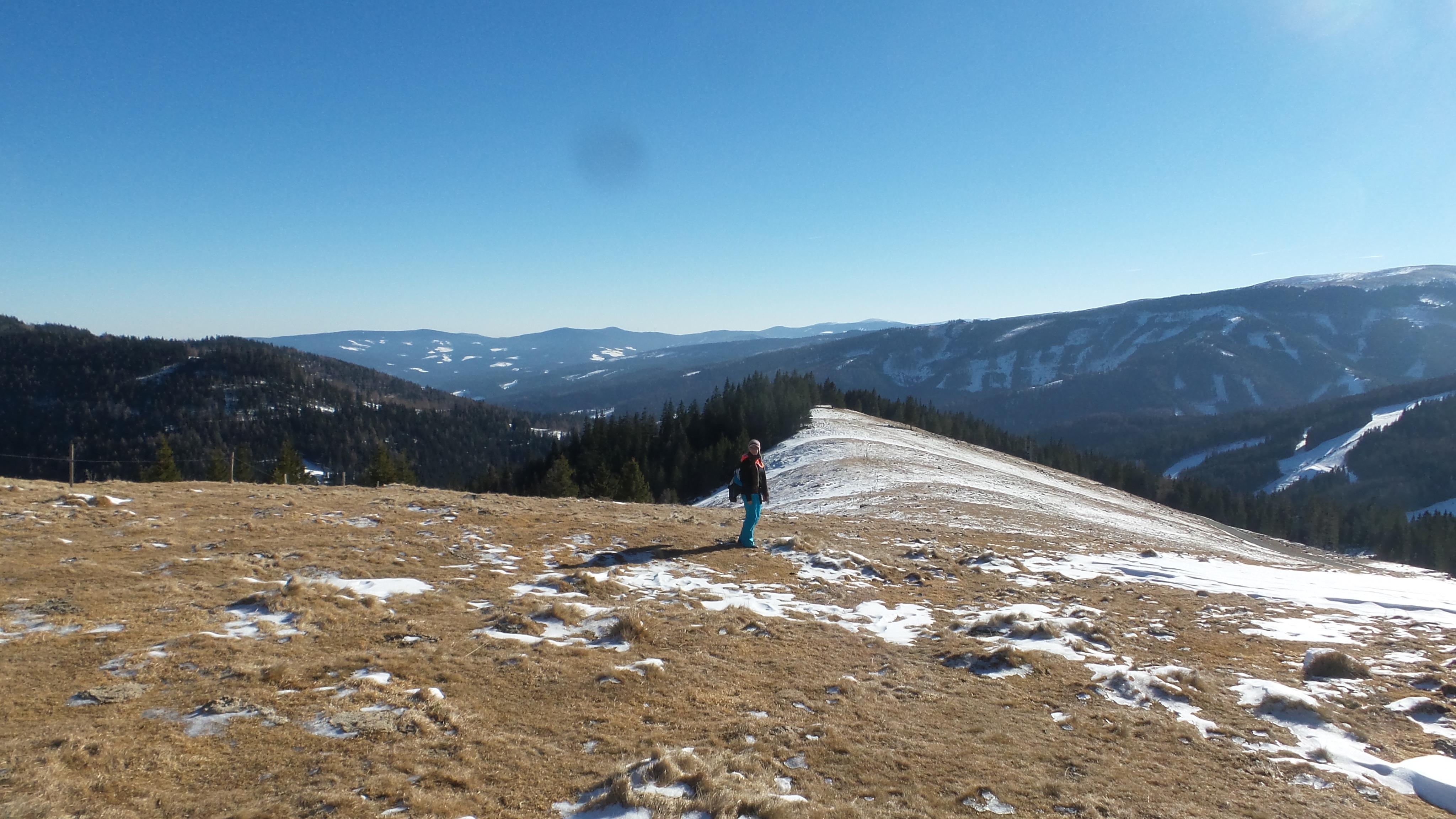 Salzstiegl querfeldein spazieren