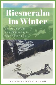 Winterurlaub auf der Riesneralm in der Obersteiermark. Eines meiner Lieblingsskigebiete für Familien.