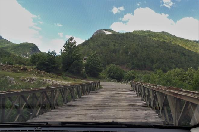 Fahrt durch Nordalbanien