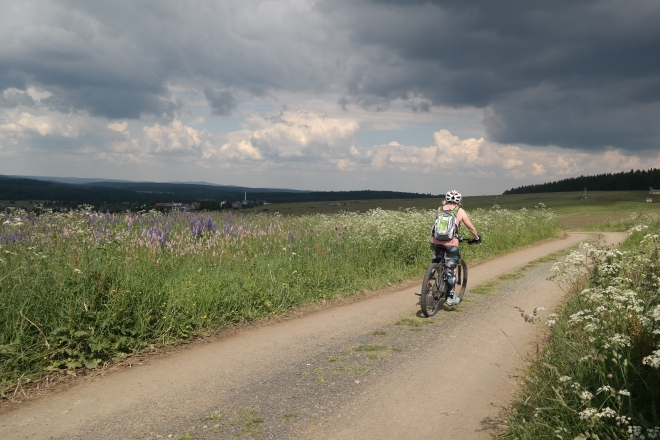 E-Bike Tour von Oberwiesenthal nach Bozi Dar