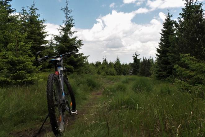 E-Bike Tour Fichtelberg