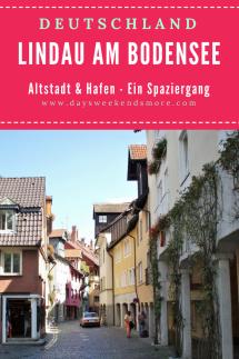Lindau am Bodensee - ein kleiner Spaziergang durch die Altstadt und zum Hafen