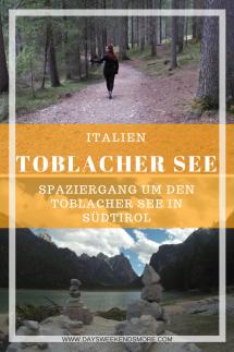 Ein Spaziergang um den Toblacher See in Südtirol