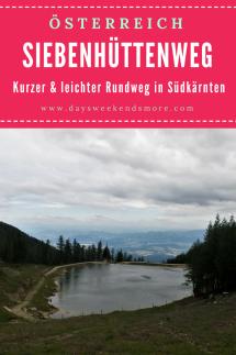 Der Siebenhüttenweg auf der Petzen in Kärnten. Ein kleiner & leichter Rundweg - auch für Kinder geeignet.