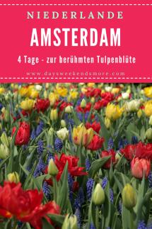 Amsterdam zur Tulpenblüte - 4 Tage in Amsterdam + Ausflug Keukenhof