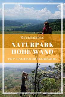 Ausflug mit Oma und Opa in den Naturpark Hohe Wand in Niederösterreich