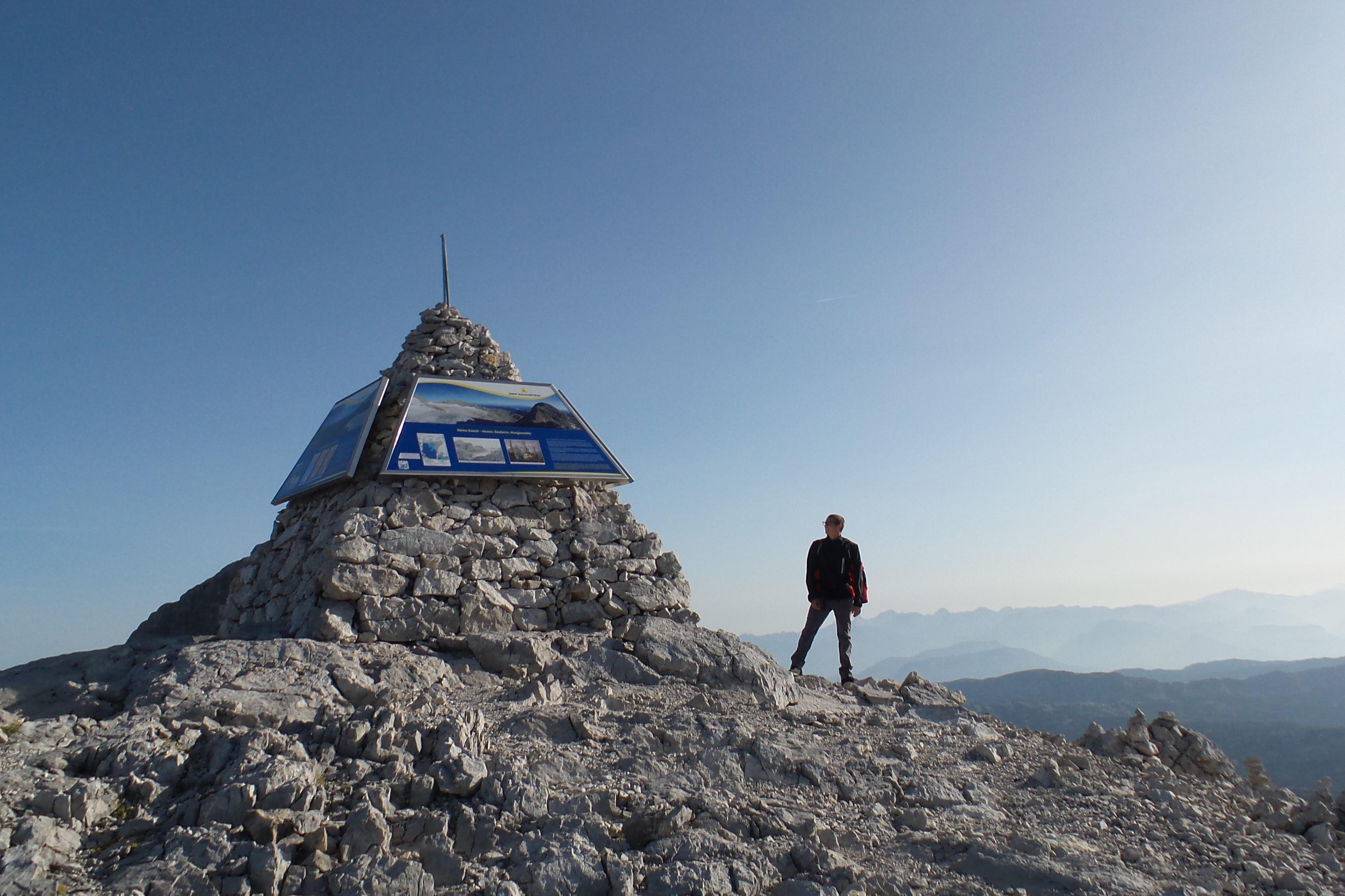 Wanderung auf den kleinen Gjaidstein