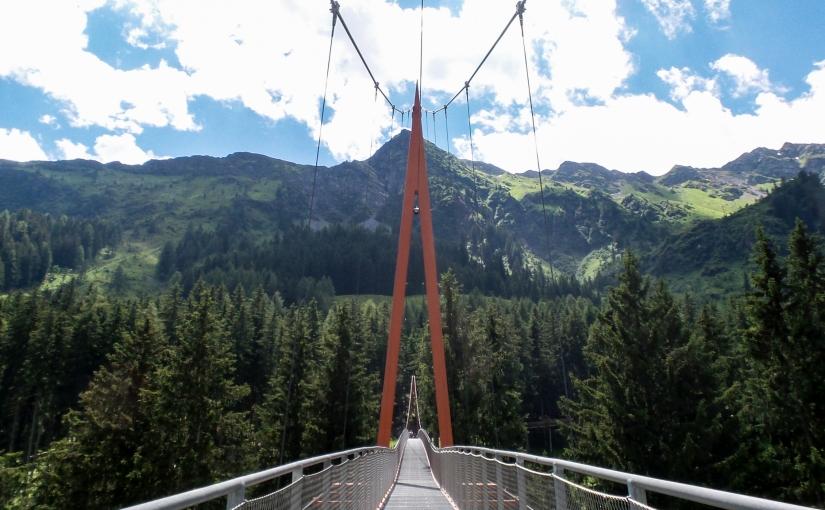 Baumzipfelweg in Saalbach Hinterglemm – Golden Gate Bridge derAlpen