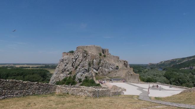 Burg Devín Slowakei