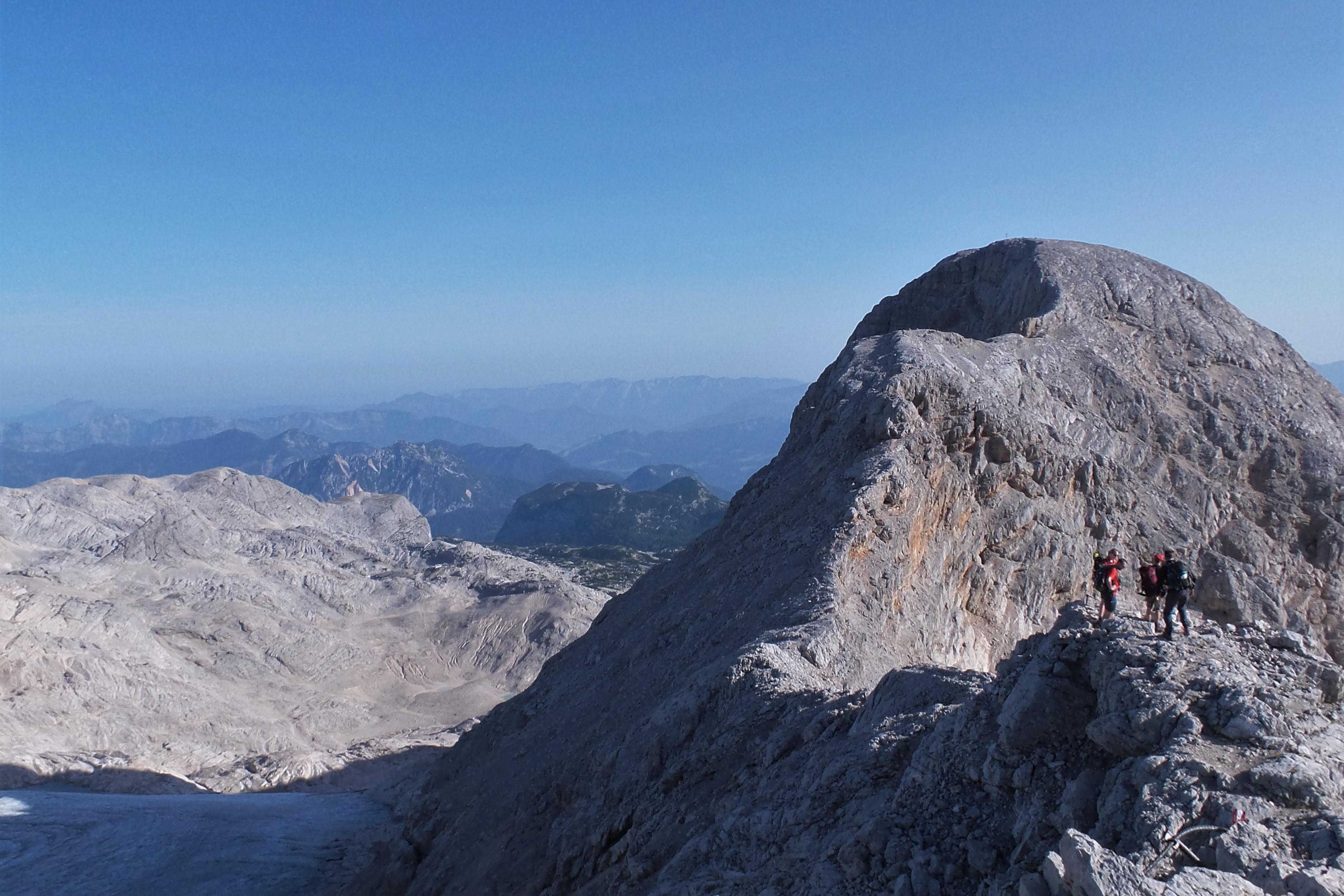 Wanderung auWanderung auf den kleinen Gjaidsteinf den kleinen Gjaidstein