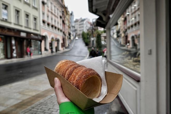 Baumkuchen in Karlsbad