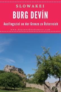 Ein Tagesausflug zur Burg Devín von Wien oder auch von Bratislava