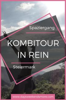 Spazieren in Rein, nördlich von Graz in der Steiermark - eine schöne Kombitour in Rein.