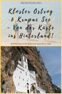 Von der Bucht von Kotor zum Durmitor Nationalpark - über Kloster Ostrog und Krupac See
