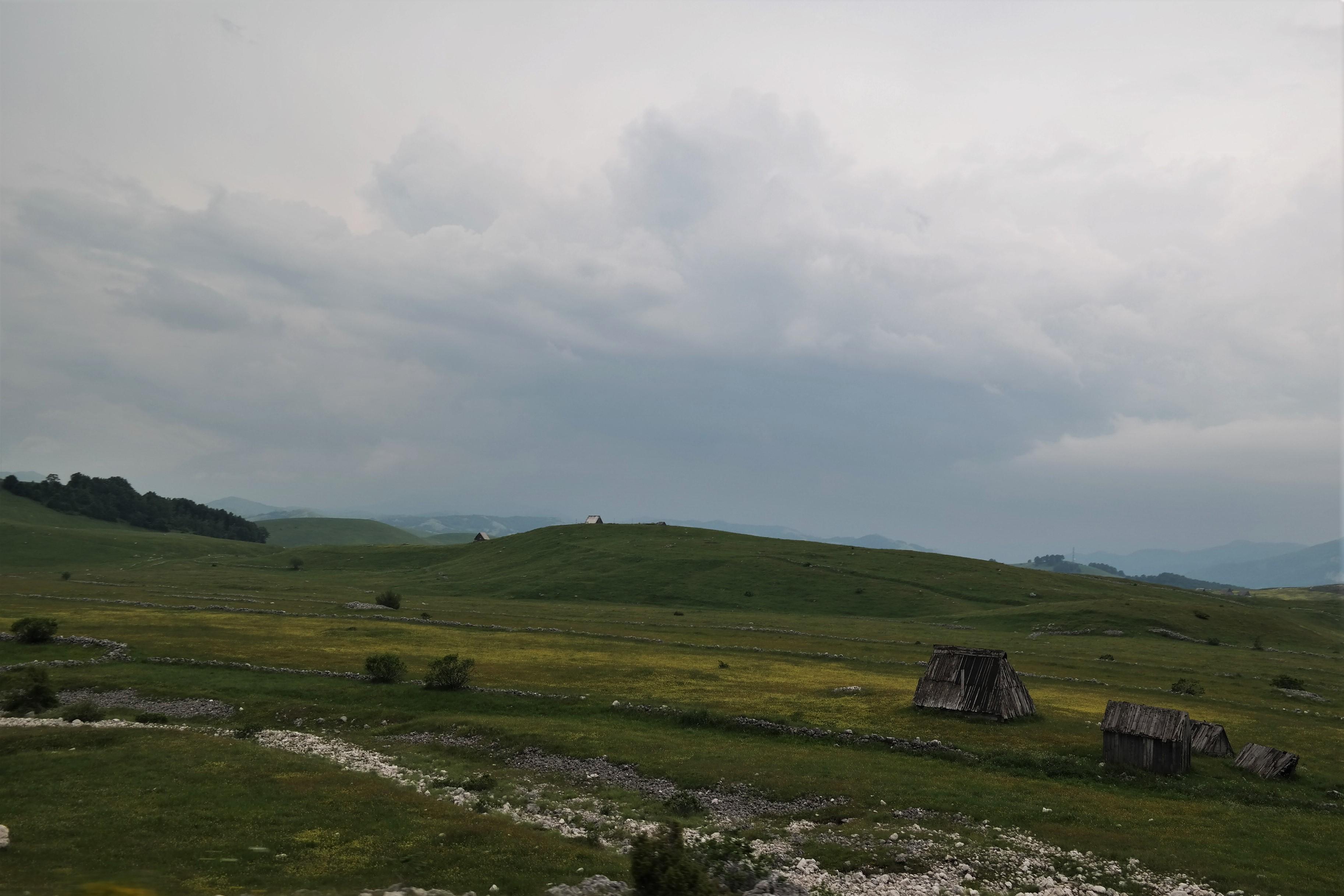 Weg zum Durmitor Nationalpark