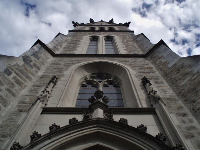 Kirche in Vaduz
