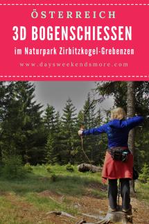 Bogenschiessen im Naturpark Zirbitzkogel-Grebenzen. Ein Wochenende mit der Familie der besonderen Art.