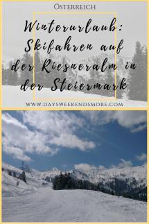 Winterurlaub auf der Riesneralm in der Steiermark. Ein Skigebiet für Familien und sportliche Skifahrer.